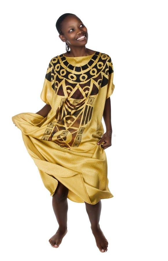 tancerka afrykańskiej obraz stock