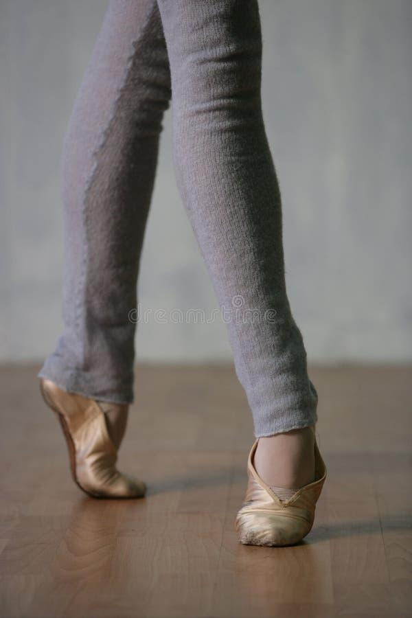 tancerka nogi. zdjęcie stock