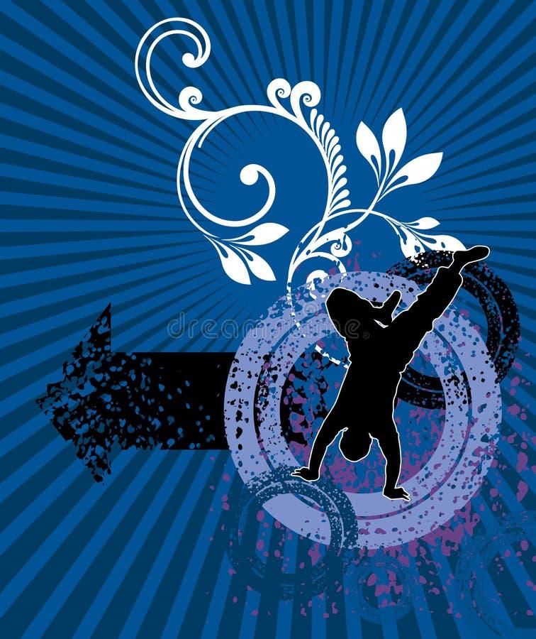 tancerz royalty ilustracja