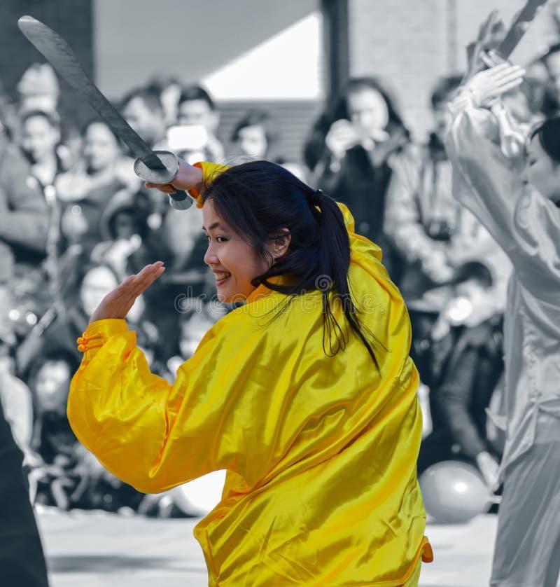 tancerz chińska kobieta