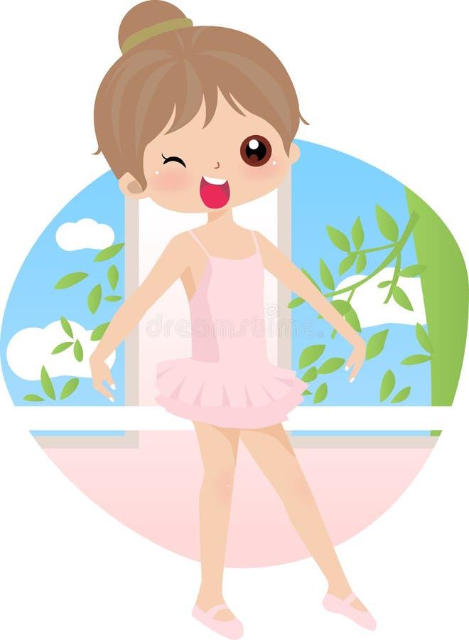 tancerz dziewczyna ilustracji