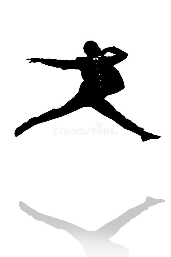 tancerz ilustracja ilustracja wektor