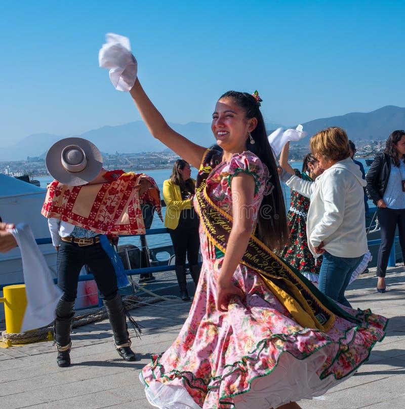 Tancerz przy dokiem zdjęcie royalty free