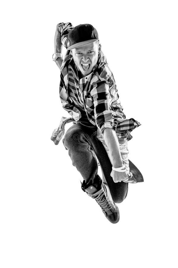 Tancerz w studiu zdjęcia royalty free