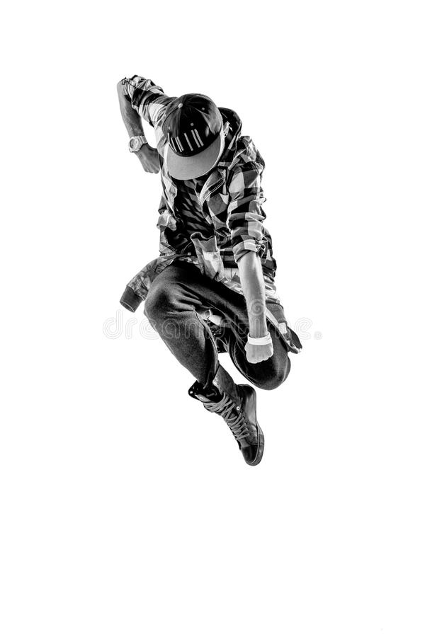 Tancerz w studiu obrazy stock
