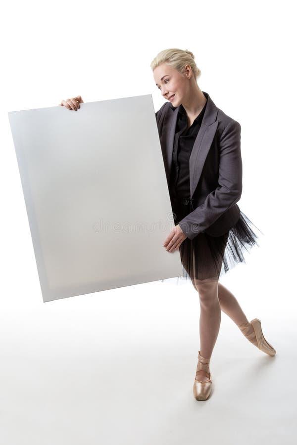 Tancerz z pokazu znakiem obrazy royalty free