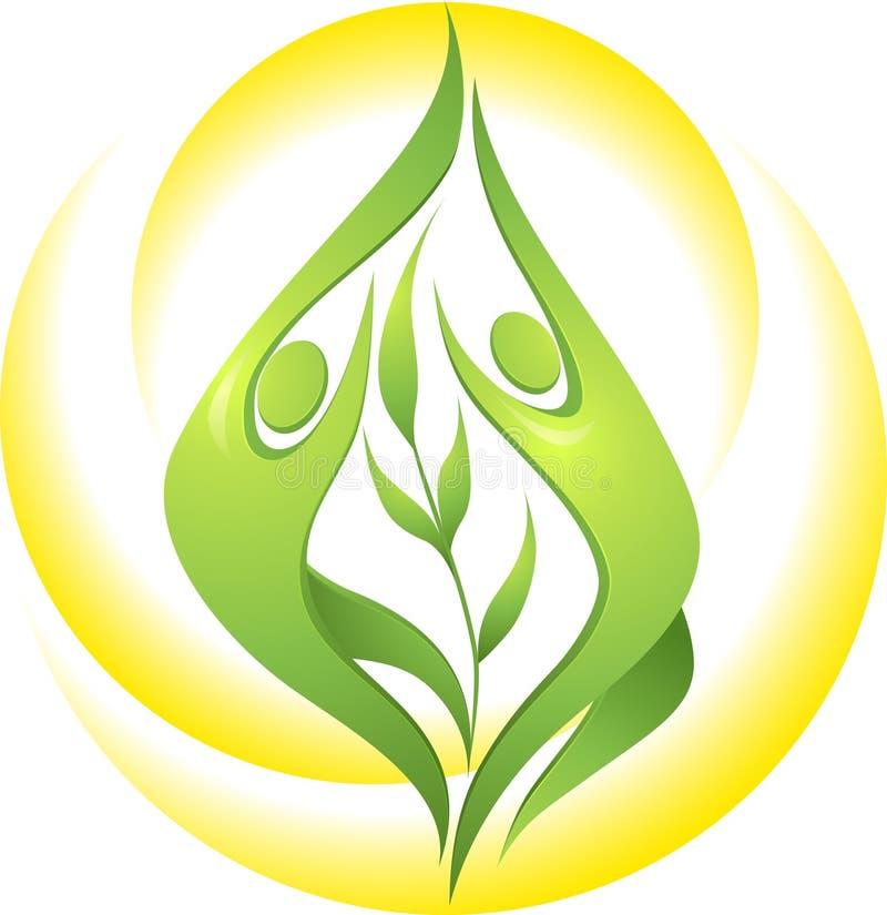 tancerz zieleń ilustracji