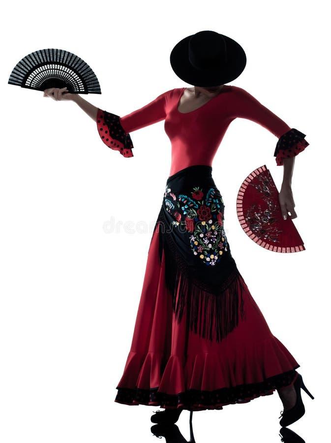 tancerza dancingowa flamenco cyganu kobieta obraz stock
