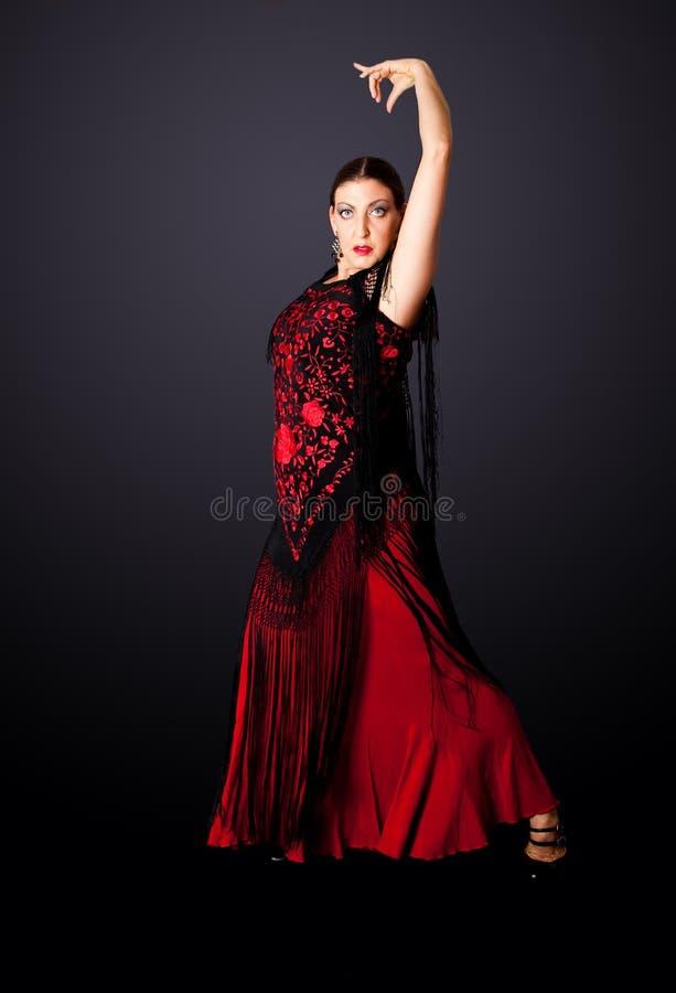 tancerza flamenco spanish obrazy stock