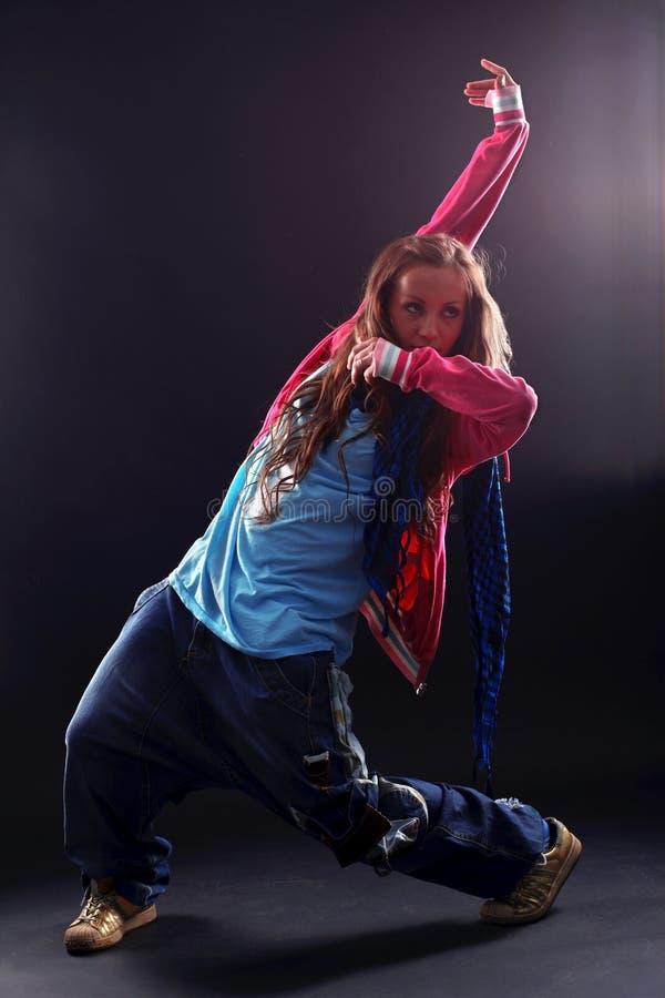tancerza hip hop kobieta obraz royalty free