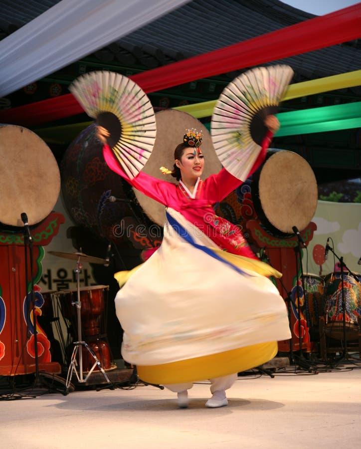 tancerza koreańczyk obrazy stock