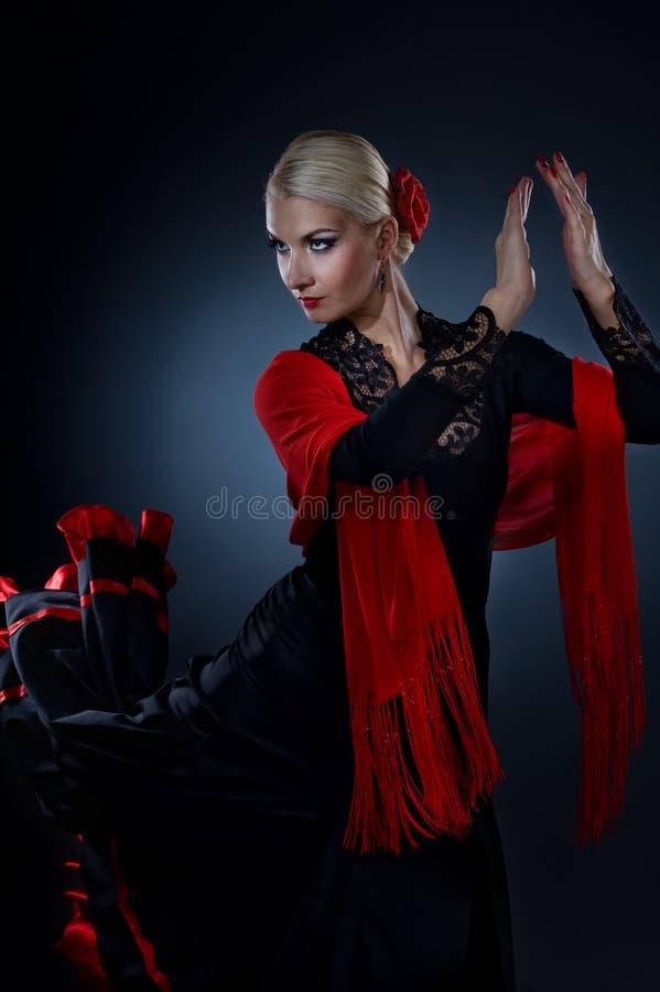 tancerza piękny flamenco zdjęcia stock