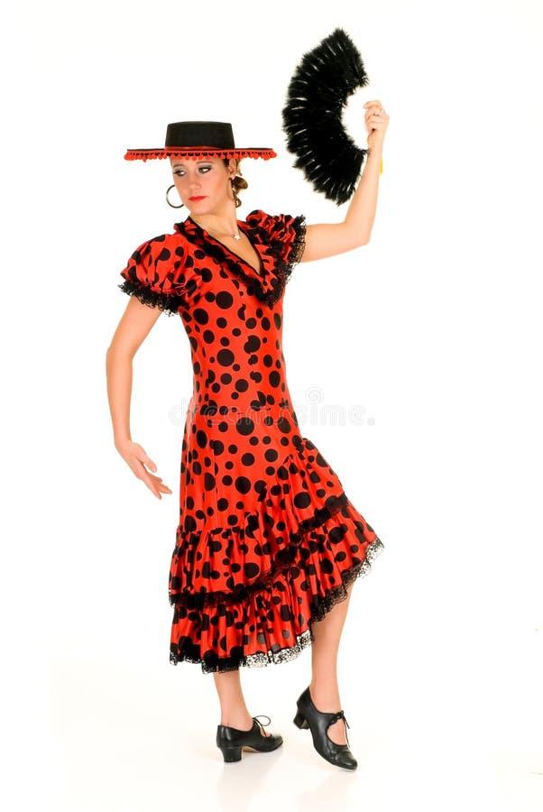 tancerza spanish kobieta fotografia royalty free