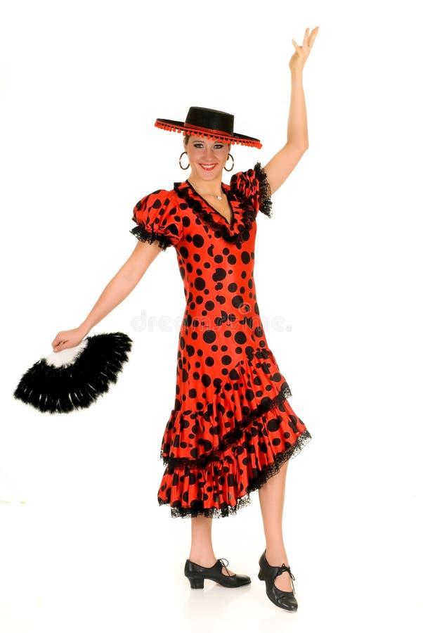 tancerza spanish kobieta zdjęcia stock