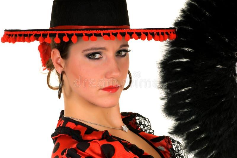 tancerza spanish kobieta obrazy stock
