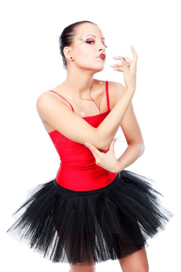 tancerza spełnianie zdjęcia stock