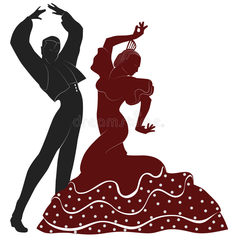 Tancerze ilustracji