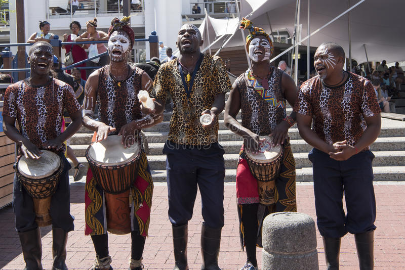 tancerze afryki fotografia stock