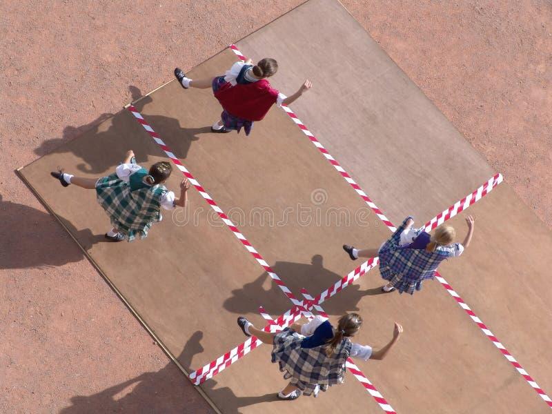 tancerze szkockich zdjęcie royalty free