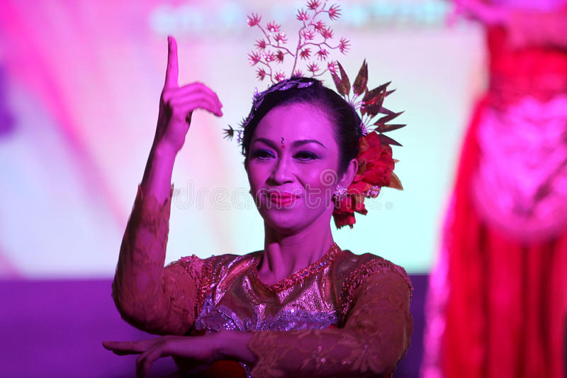tancerze tradycyjne zdjęcie stock