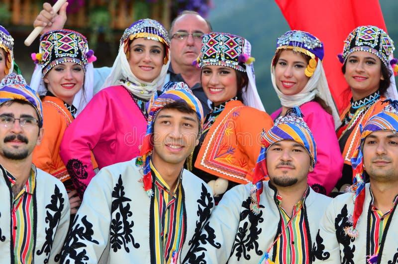 tancerze tureccy zdjęcie stock