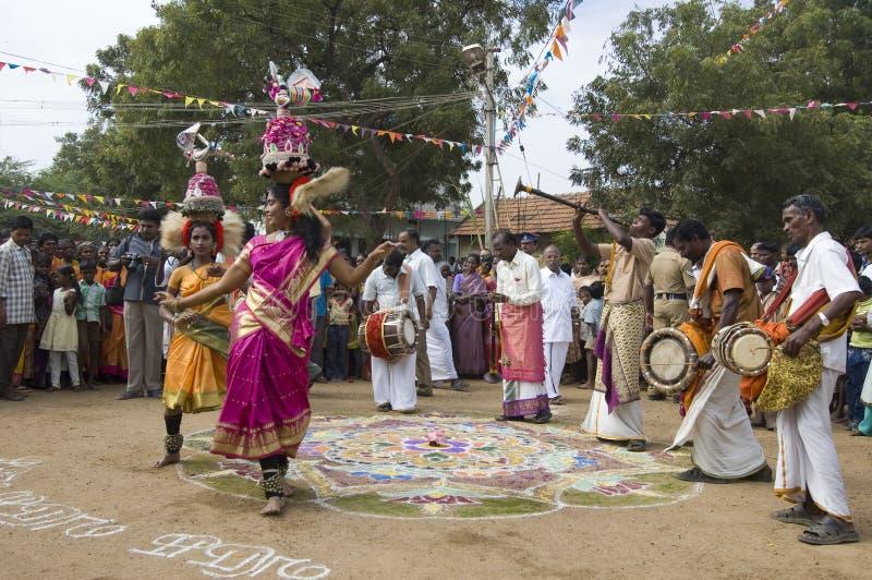 tancerzy festiwalu muzycy zdjęcie stock