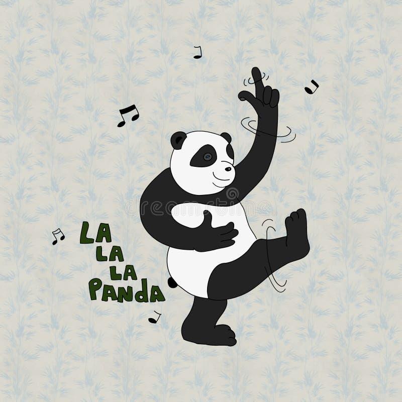 Tanczyć Pandabear zdjęcia royalty free