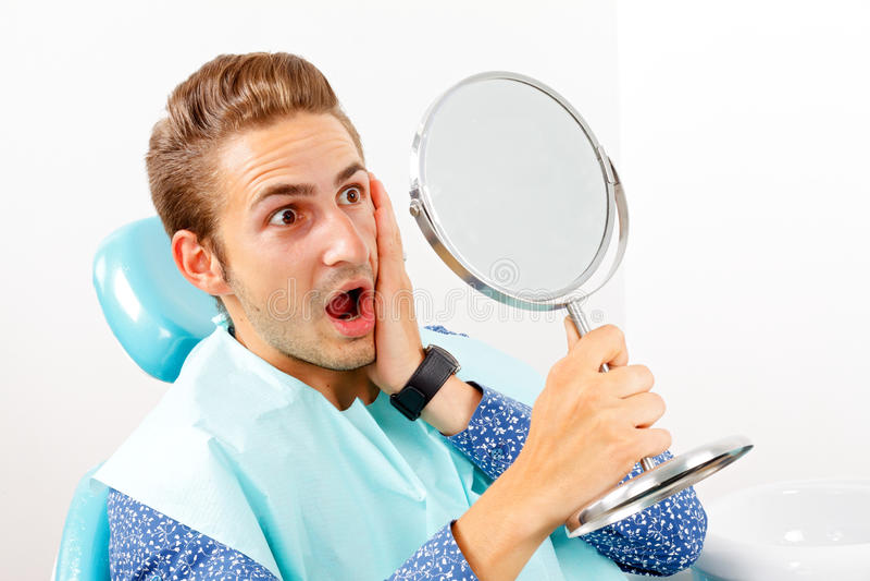 Tand behandeling stock foto