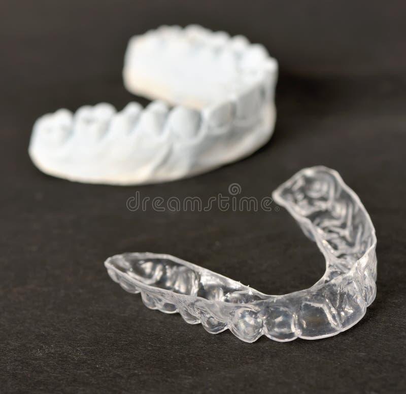 Tand- magasin för silikon arkivbild