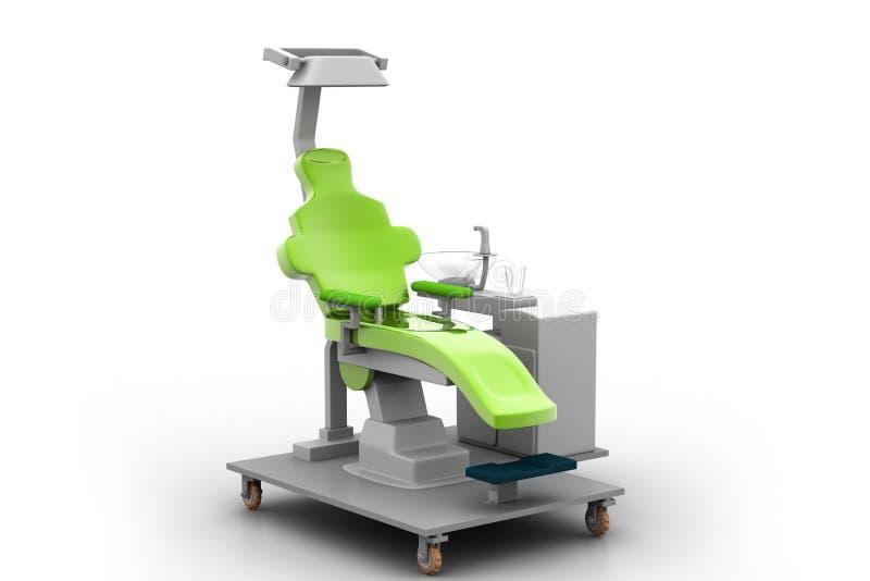 Tand stoel vector illustratie