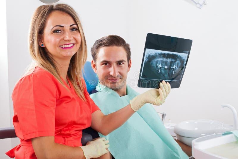 tand- stråle x arkivfoton