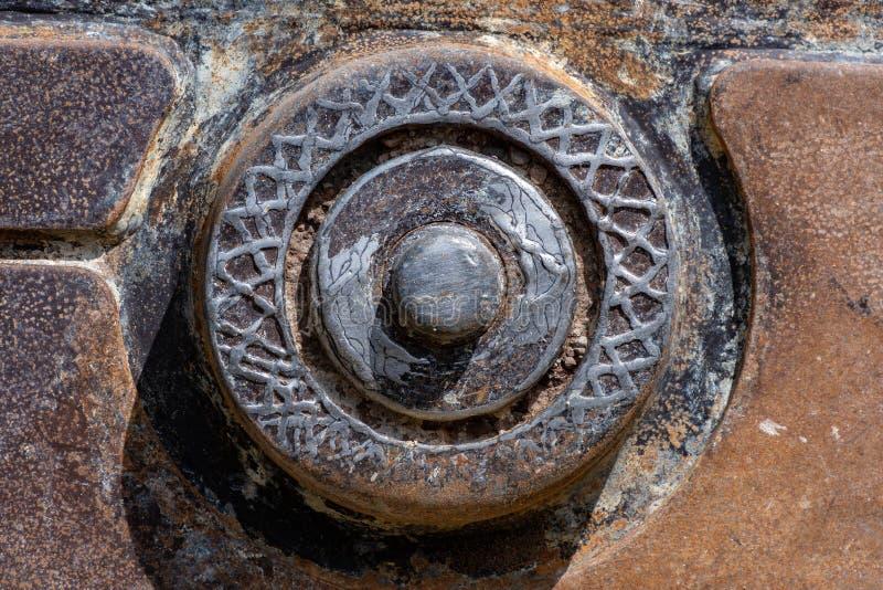 Tand van een tunneldilling mashine royalty-vrije stock foto's