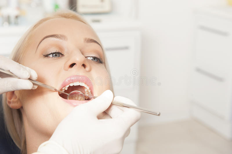 tandarts stock foto