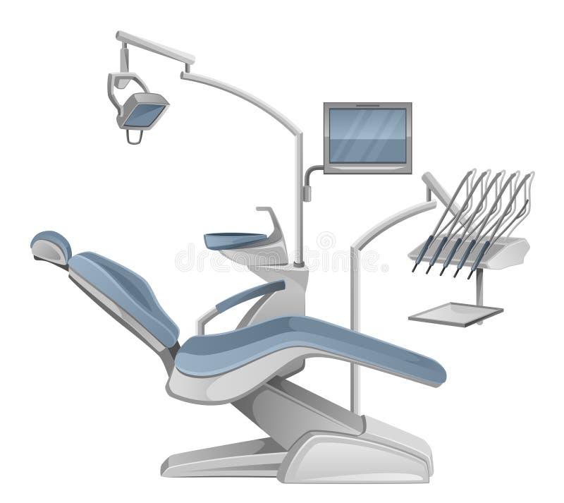 Tandarts Chair stock illustratie