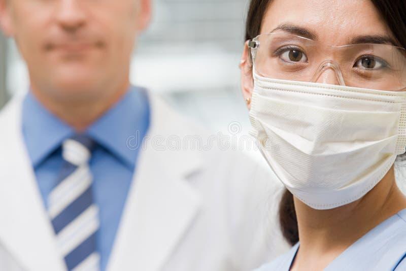 tandartsen royalty-vrije stock afbeelding