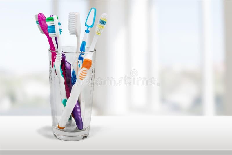 tandborste arkivfoto