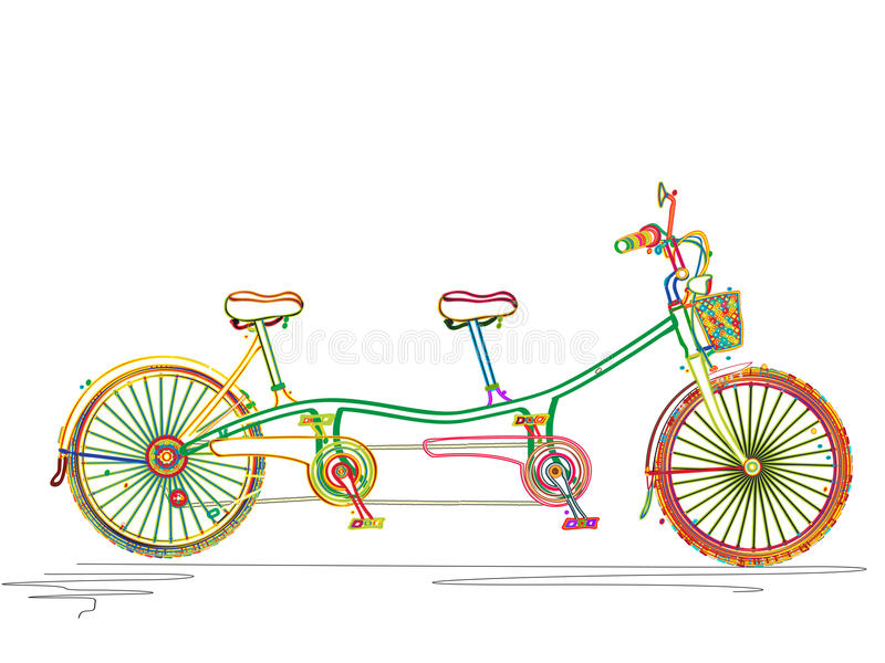 Bicycle pattern stock vector. Illustration of bicycling ...