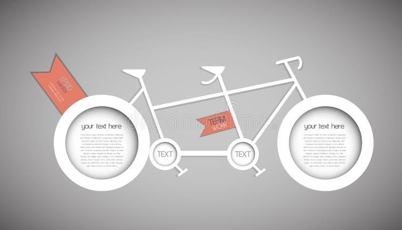 Tandem Bicycle Stock Photos