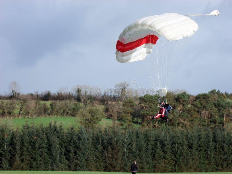 TandemxXXX_1 springen in Irland stockbild