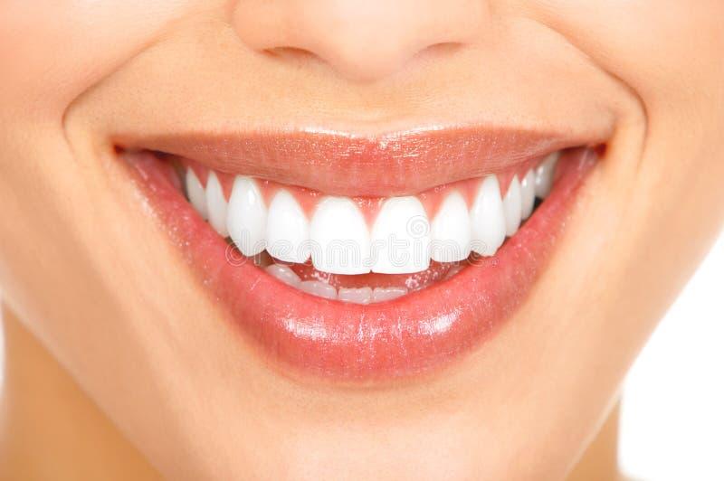 Tanden en glimlach royalty-vrije stock afbeeldingen