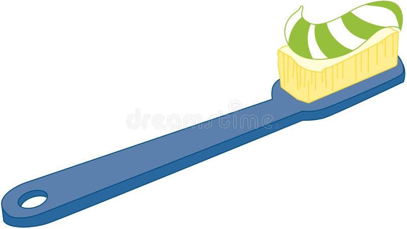 Tandenborstel stock illustratie