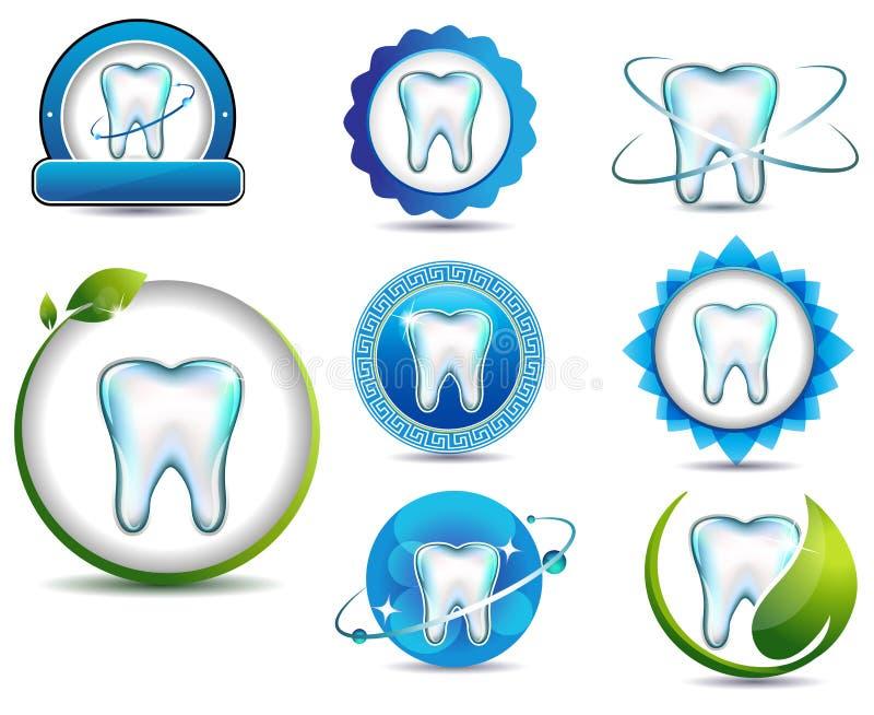 Tandhälsovård stock illustrationer