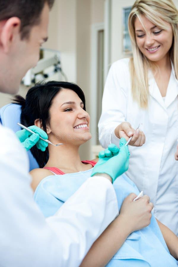 Tandheelkunde stock afbeelding