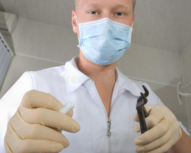 tandläkare royaltyfria bilder