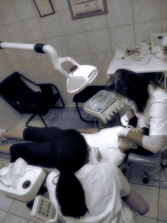 tandläkare royaltyfria foton