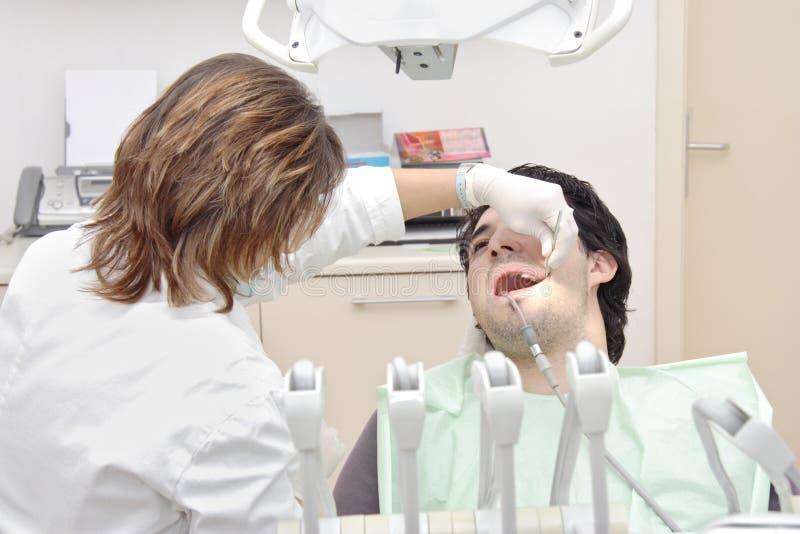 tandläkare s fotografering för bildbyråer