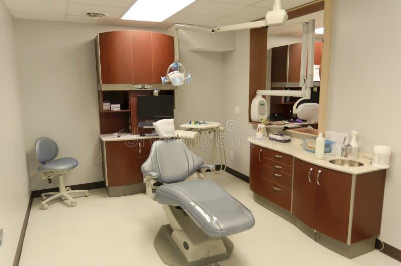 Tandläkares stol arkivfoton
