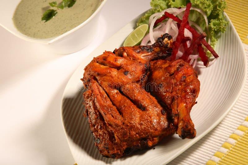tandoori цыпленка стоковая фотография