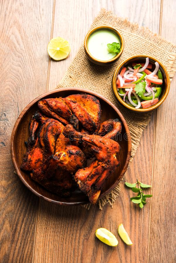 Tandoori Chicken / chicken barbecue or grill chicken royalty free stock images