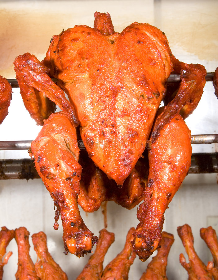 Tandoori chicken grilled royalty free stock image